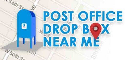 Good Post Office Drop Box Near Me Locator